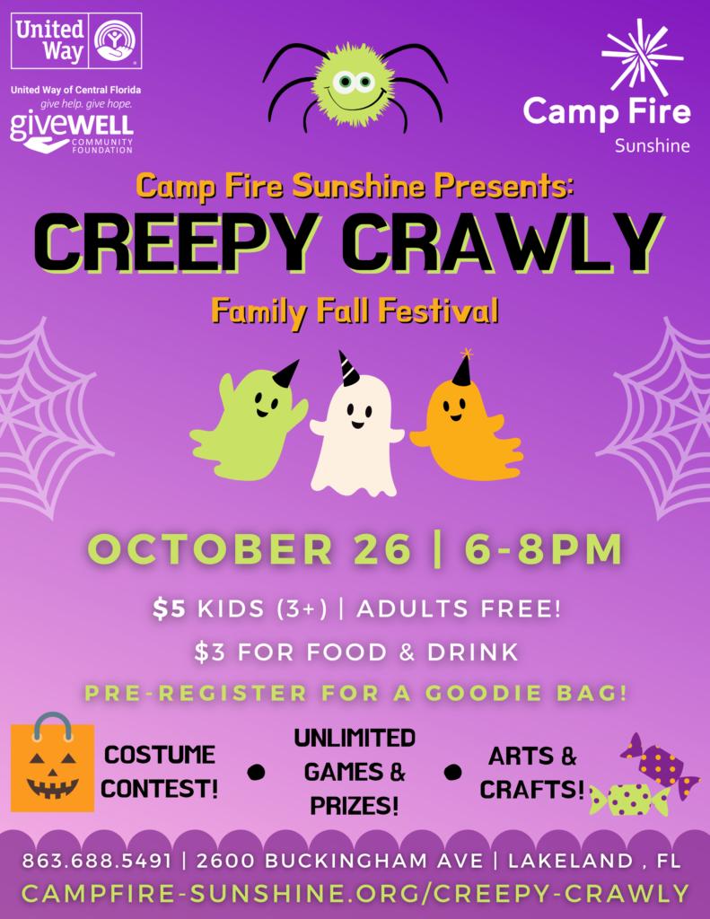 Creepy Crawly Flyer